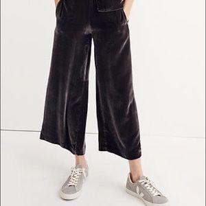 Madewell Velvet Pull On Pants - Size XS